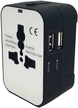 Travel Adapter EPICKA All in One Worldwide Universal Power Adapter AC Plug