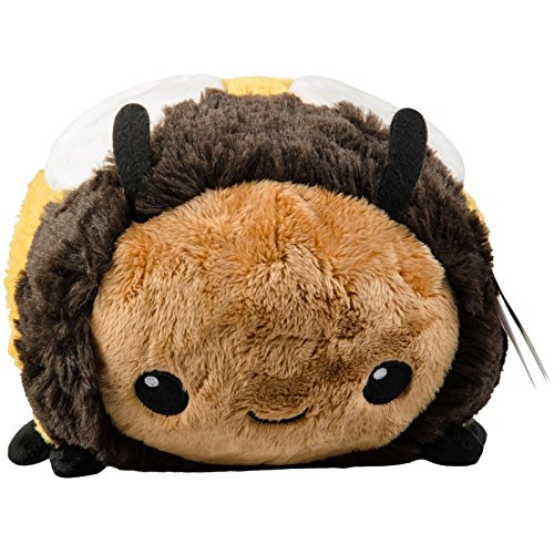 Squishable Fuzzy Bumblebee Plush, Yellow & Black, Mini 7