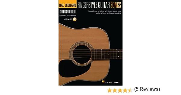 Fingerstyle Guitar Songs: Hal Leonard Guitar Method Supplement ...