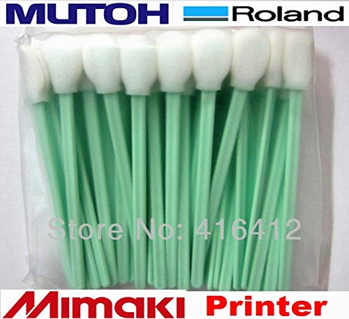 Printer Parts - 1000 pcs Cleaning swabs for Printers Yoton Round Foam tip Cleaning swabs for Sale