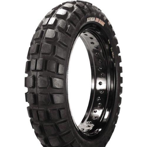 Kenda K784 Big Block Rear Tire - 150/70-17/Blackwall - Racing Slick Belted Tire