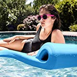 Pool Mate 3X-Large Foam Mattress Swimming Pool Float, Marina Blue