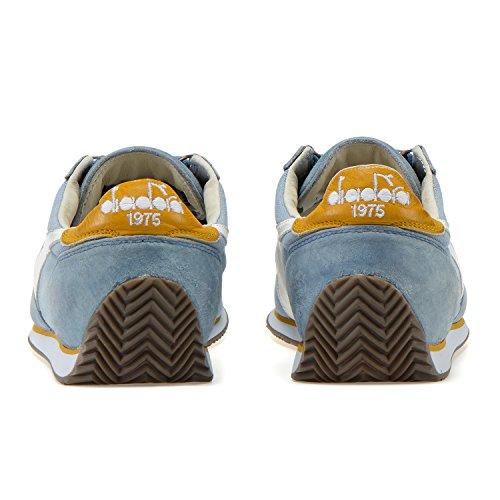 12 Wash Mujer y para Stone Equipe Amarillo Diadora Heritage C7456 Azul Sneakers Paja Hombre Sombreado Del xwzqxXI