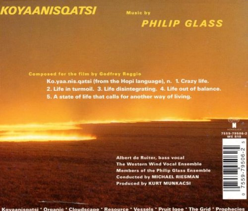 Koyaanisqatsi (1998 Re-recording) by Nonesuch