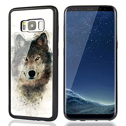 samsung s8 wolf phone case