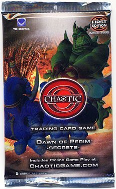Chaotic Trading Card Game TCG Premiere Edition Dawn of Perim Secrets Booster Pack by Chaotic