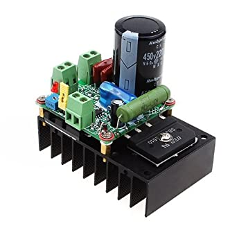 Riorand 12v 24v 48v 110v Dc Motor Speed Driver Controller