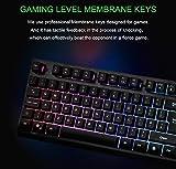 Gaming Keyboard Membrane Keyboard with RGB Backlit