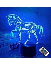 FULLOSUN Voetbal 3D Nacht Licht, Rugby Licht 3D Illusie Lamp voor Kinderen met 7 Kleuren veranderen, Creatieve Verjaardag Amerikaanse Voetbal Geschenken voor Jongens Decoratie voor Kids Slaapkamer