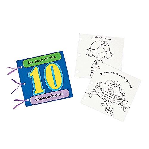 (Fun Express My Book of The 10 Commandments Craft Kit)