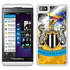 Beautiful And Fashional Designed Cover Case For Blackberry Z10 With New Castle United White Phone Case 13