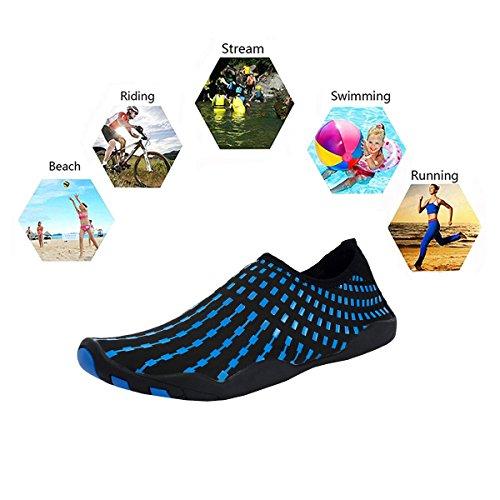 Kinder Aquaschuhe Strandschuhe Herren b Wasserschuhe Neoprenschuhe B Rutschfeste Badeschuhe Surfschuhe Damen für Schwimmschuhe TZO4w