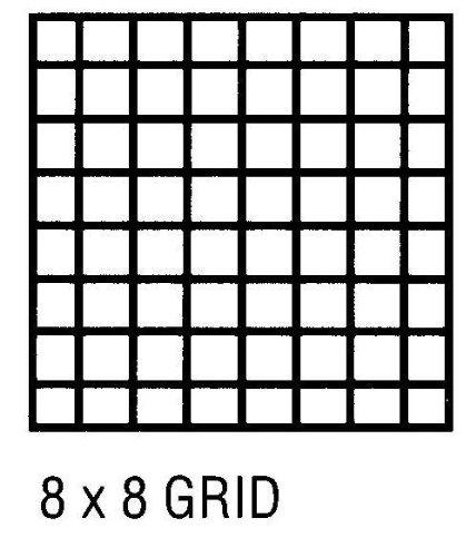 アルビンCP10102161グリッドベラム42 X 50ヤードの8×8 B001DKJ7DM