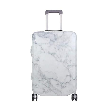 Amazon.com: Maletas giratorias de mármol blanco para viajes ...