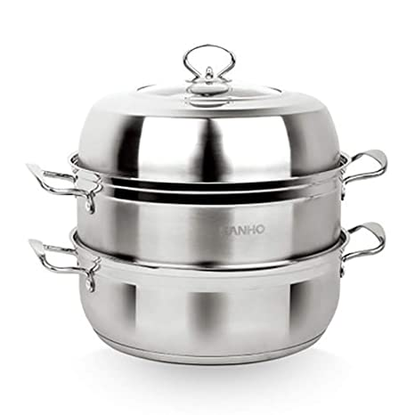 Vaporizador de 30 cm2 / cocina de acero inoxidable de grado ...