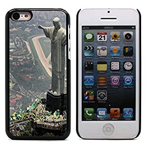 Graphic4You Christ The Redeemer Postcard Design Hard Case Cover for Apple iPhone 5C