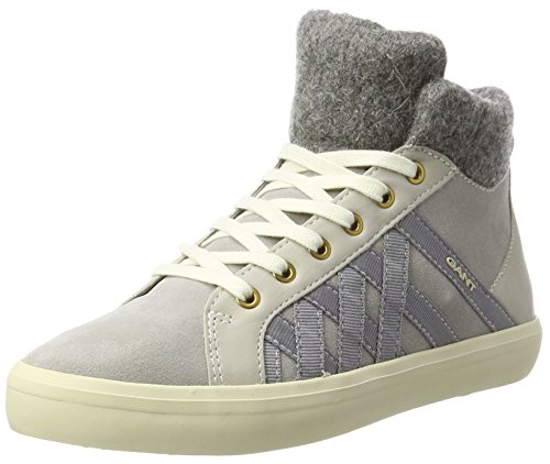 Gray G84 Femme Light Gant Hautes Baskets Mary Gris g71YwqF