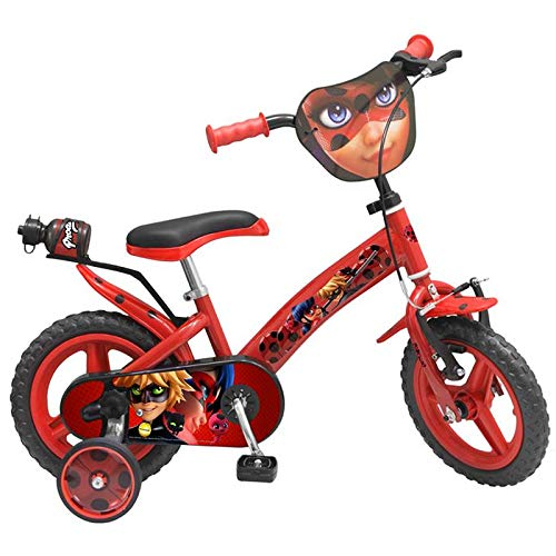 Toimsa 1287 Ladybug Miraculous Fahrrad Mädchen 12 Zoll