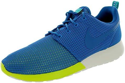 Nike Roshe Run Men s Sneakers Military Blue Turbo Green Summit White 511881-400
