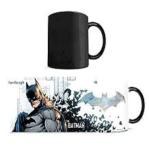 Morphing Mug DC Comics Justice League (Batman) Ceramic Mug, Black