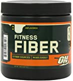 Optimum Nutrition Fitness Fiber, Unflavored, 6.87oz Tub (Pack of 2)