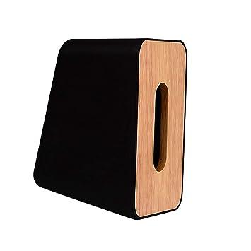 Sharplace Estuche Para Dispensador De Caja Herramientas de Jardinería Decoración Exterior - Negro