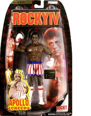 Jakks Pacific Best of Rocky Action Figure Apollo Creed Rocky IV Vs. Drago