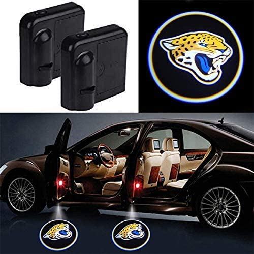 2Pcs Car Door Led Welcome Laser Projector Car Door Courtesy Light for Indianapolis Colts Suitable Fit for all brands of cars Indianapolis Colts