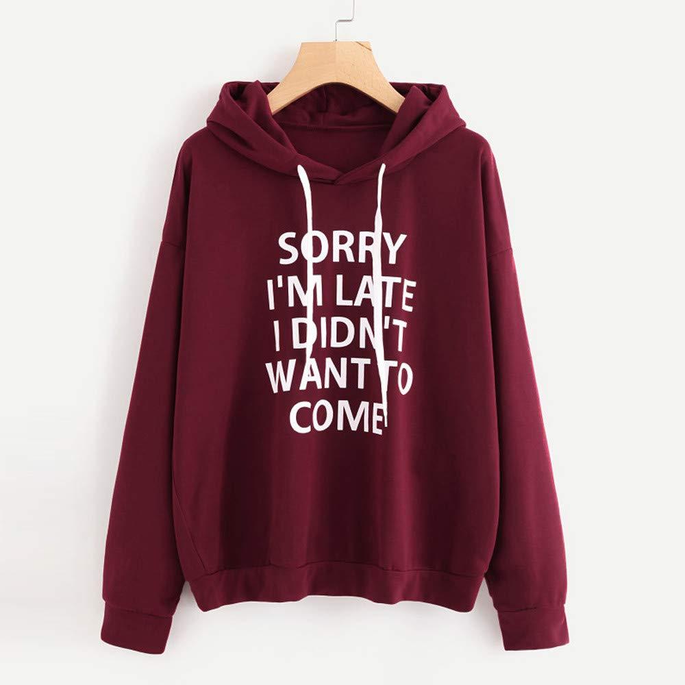 ModaParis Womens Casual Long Sleeves Hoodies Ladies Stranger TV Show Things Print Hoodie Sweater Sweatshirt Pullover