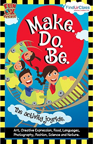 Make.Do.Be -  Activity Book for Kids
