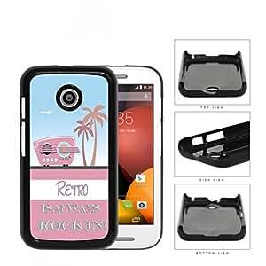 Retro Is Always Rockin Pink Radio Hard Plastic Snap On Cell Phone Case Motorola Moto E