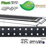 Green Element EVO 48''-52'' LED Aquarium Light Fixture - Plant 32x3W