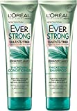 L'Oreal Paris EverStrong Thickening Bundle: Shampoo & Conditioner, 8.5 OunceEach