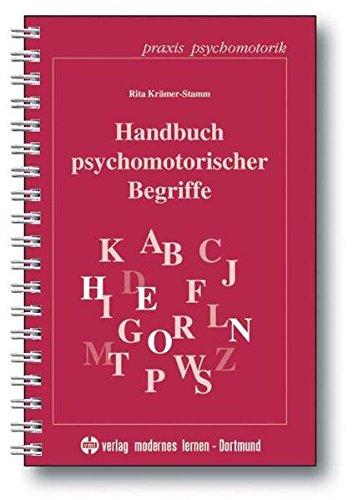 Handbuch psychomotorischer Begriffe
