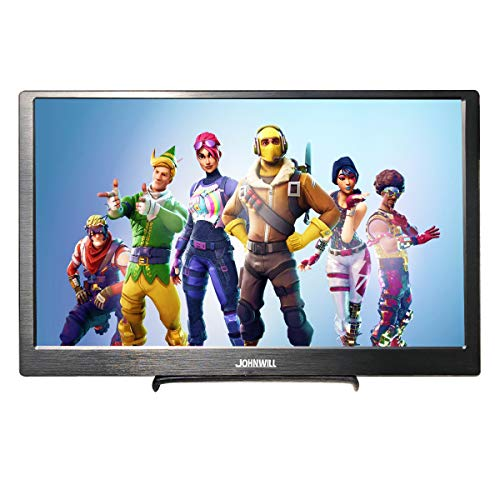 Portable Monitor 11.6 IPS Monitor 1920X1080 Portable Display HDMI Input, USB Powered,Built-in Speaker Gaming Monitor, JOHNWILL