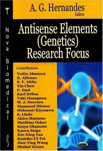 Antisense Elements (Genetics) Research Focus