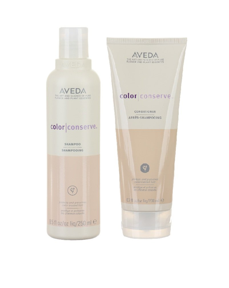 Aveda Color Conserve Shampoo 8.5 oz and Conditioner 6.7 oz by AVEDA