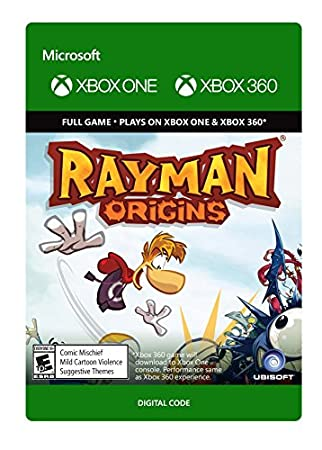 Rayman Origins - Xbox 360 / Xbox One [Digital Code]