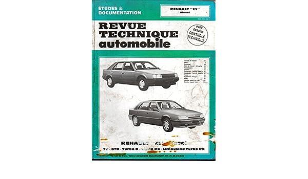 Rta 475.6 Renault 25 diesel td-gtd-turbo d-turbo dx: Amazon.es: Etai: Libros en idiomas extranjeros
