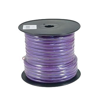 Bassface pwp4.2 OFC 4 AWG 21 mm Purple Power Draht Kabel Spule 30 m ...