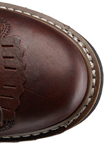 Georgia Boot Mens 8 Lace-to-toe Avvio Di Cioccolato