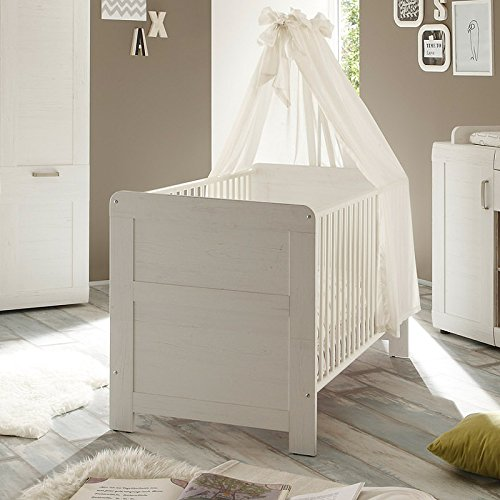 trendteam bzl60557 babyzimmer komplett set landhausstil. Black Bedroom Furniture Sets. Home Design Ideas