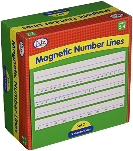 - Didax Educational Resources Magnetic# Lines Activity, Gr. 3-4