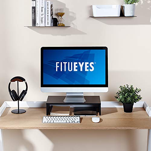 FITUEYES Computer Monitor Riser Laptop Desktop Stand for Monitors