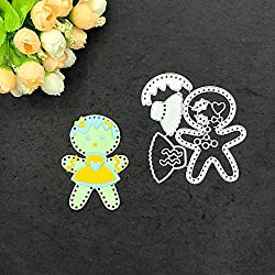 AKwell Cutting Dies for Christmas - Metal Die Cuts Embossing Stencil and Template for Kid's Creative Arts Crafts Supplies, Card Supplies, DIY Scrapbooking Album Paper Card Decor Craft