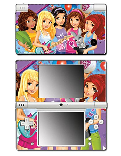 Girl Friends Toy Jungle Mall Mia Olivia House Video Game Vinyl Decal Skin Sticker Cover for Nintendo DSi System