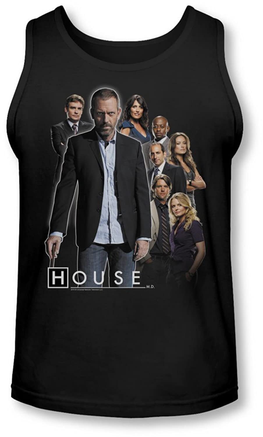 House - Mens Crew Tank-Top