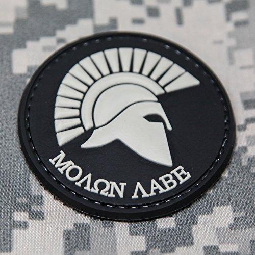 Molon Labe Spartan Round Patch
