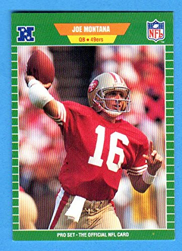 Joe Montana 1989 Pro Set Football (Premier Edition) (49ers Super Bowl Year) ()