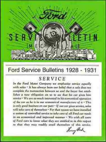 model a ford service bulletins - 4